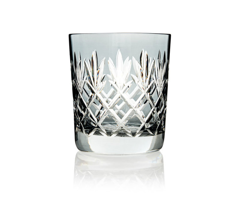 Pineapple Light Grey Double Old Fashioned Tumbler