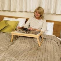Bedtafel -  voor op bed  -  verstelbaar
