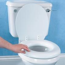 Zachte toiletzitting met deksel