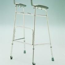 Looprek - onderarmschaal - in hoogte verstelbaar