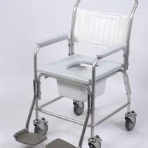 Mobiele Douche / toiletstoel  - tot 100kg