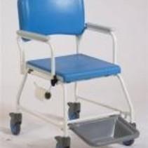 Douchestoel / Toiletstoel voor disposable po