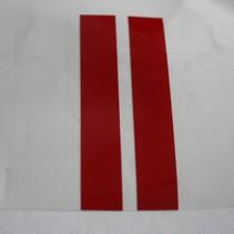 Rode banden - per 2 stuks - slechtziend / blind