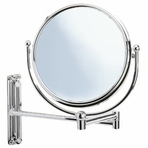 Wenko wand spiegel zwenkarm de Luxe 19 cm,  vergroot 5x