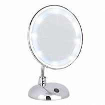 Wenko spiegel LED, Style, 16 cm, vergroot 3x