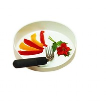 GripWare bord met hoge rand - Ø 20 cm