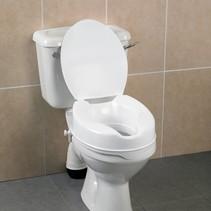 Comfortabele Toiletverhoger + Deksel - 5 / 10 cm