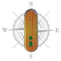 Picobello akoestisch en tactiel kompas - datum - tijdfunctie -herkent bankbiljetten