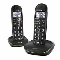 Doro Dect PhoneEasy 110 Duo - ZWART / WIT