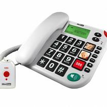 Senioren huis telefoon SOS knop
