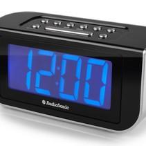 Wekkerradio CL-1475 blauw display