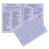 Grootletter speurders - puzzelboek - woordzoeker
