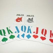 Extra set kaarten voor Foxy Reader