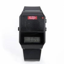 Low Vision Design Nl horloge - zwart - met standby functie