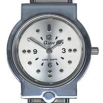 Garde herenhorloge met puntenindicatie - staal