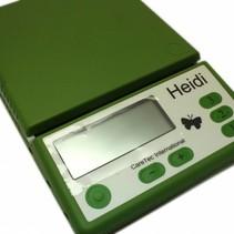 Nederlandssprekende  keukenweegschaal Heidi tot 5000 gram
