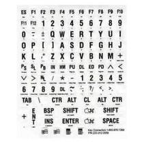 UITL Braille toetsenbordstickers wit
