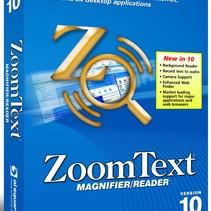 Geav.- Zoomtext vergroting/spraak