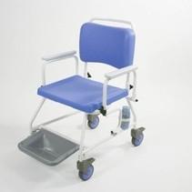 Douchestoel / Toiletstoel op wielen - zitbreedte 46 / 51 / 56