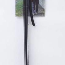 Wandelstok Zwart Motief 79 - 102 cm