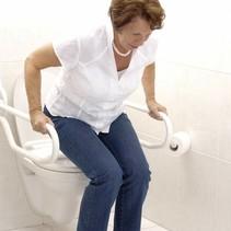 Opklapbare toiletbeugel - 60 cm