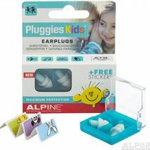 Pluggies Kids oordopjes  - Per 1 paar / Display 6 paar