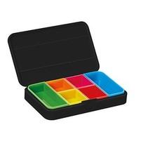 Smart pill box - wit  / zwart