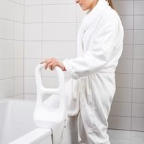 Beugel voor badrand