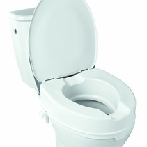 Toiletverhoger met deksel - 10 cm