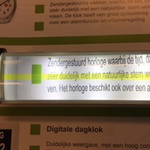 Leesliniaal met LED