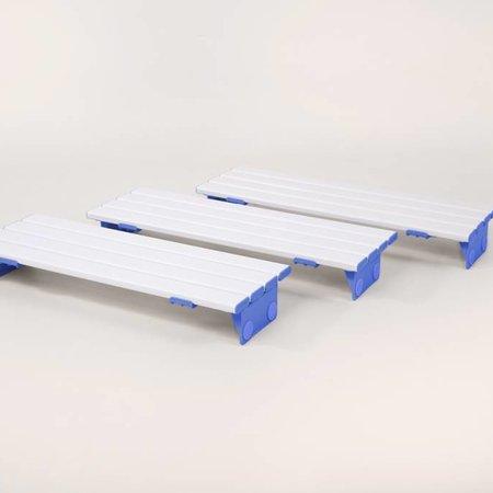 Able2 Badplank Slatted - 3 verschillende lengtes