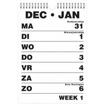Grootletter kalender 2019