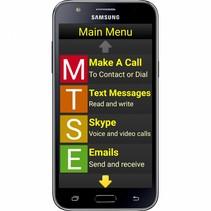 Synapptic vergrotings- en spraaksoftware voor Android Smartphones - slechtzienden