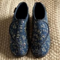 Dunlop Betsy Pantoffel -  Blauw - dames - maat 36 tot 42