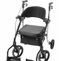 2 in 1 - Rollator - Transportstoel