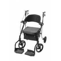 2 in 1 - Rollator - Transportstoel