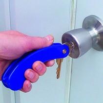 Sleutelhouder gebogen handgreep voor 3 sleutels