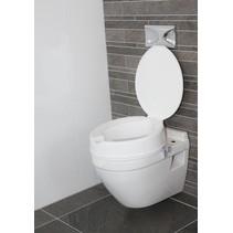 Toiletverhoger Prima + deksel - 5 cm