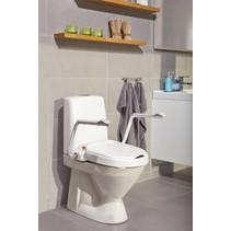 Vaste Toiletverhoger met Armleuning -  6 cm / 10 cm