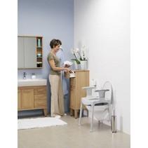Toiletverhoger - douchekruk - verstelbaar