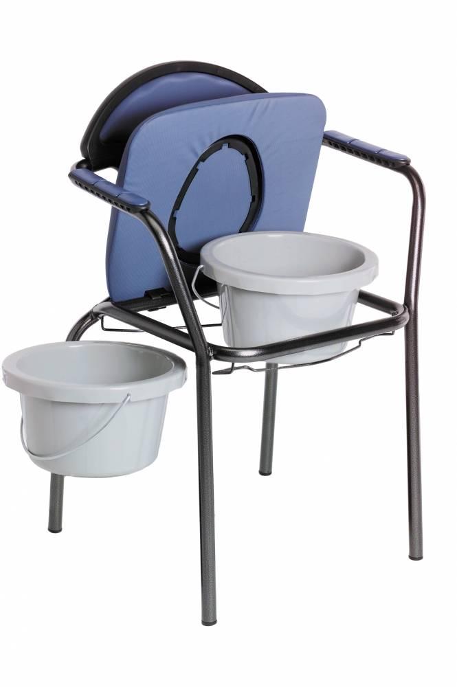 Afbeelding van Able 2 Toiletstoel Verstelbaar Blauw 1st