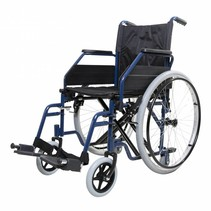 Opvouwbare rolstoel - Blauw
