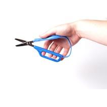 Schaar Easi-Grip - zelfopenend - 1 vingergreep - stomp