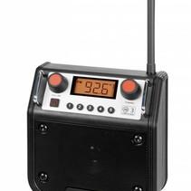 Eenvoudige radio met voorkeuzetoetsen