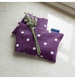 blue badge Lavendel tarwezak - olifant Nelly/paars gestipt
