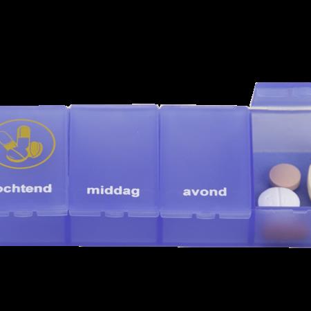 Able2 Pillenbox 1 week 4 vaks -Verschillende talen