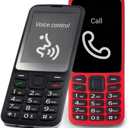 blindshell Blindshell Classic sprekende GSM zwart/rood