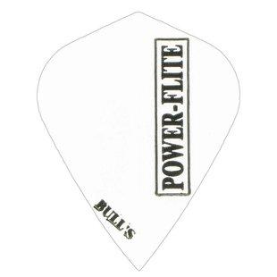 Bull's Powerflite - Kite Solid White