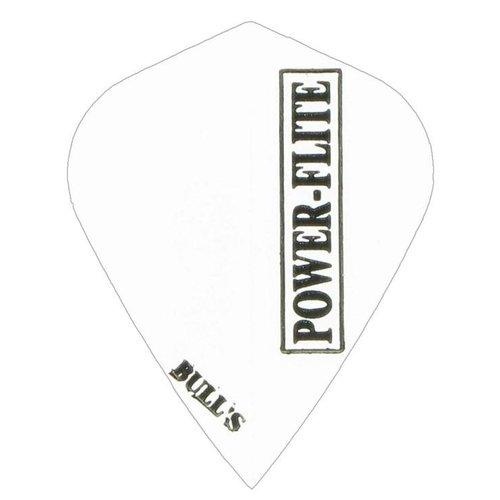 Bull's Bull's Powerflite - Kite Solid White