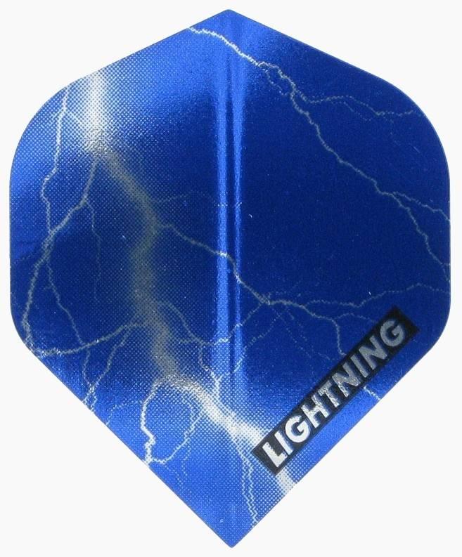 McKicks Metallic Lightning Flight Blauw